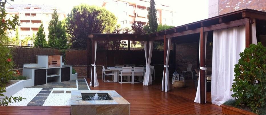 Jardines en terrazas jardines de pared with jardines en for Decorar porche ikea
